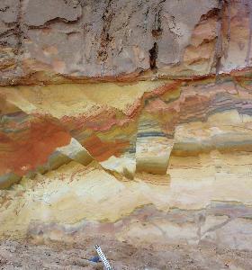 Sandgrubenwand